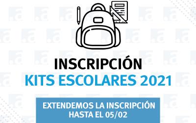 ¡Extendemos la inscripción para los Kits Escolares 2021!