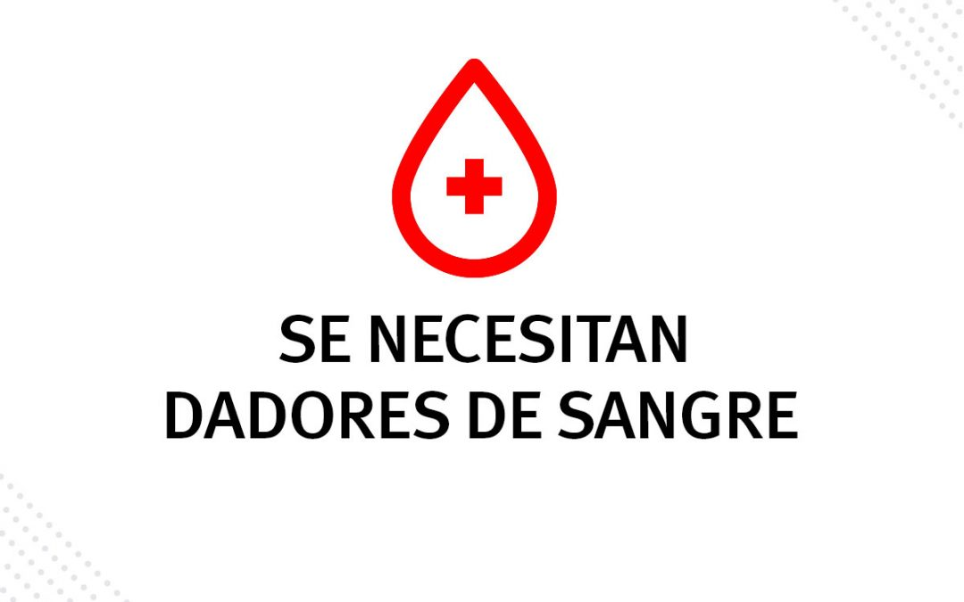 Se solicita dadores de sangre para Héctor Adrián Suarez