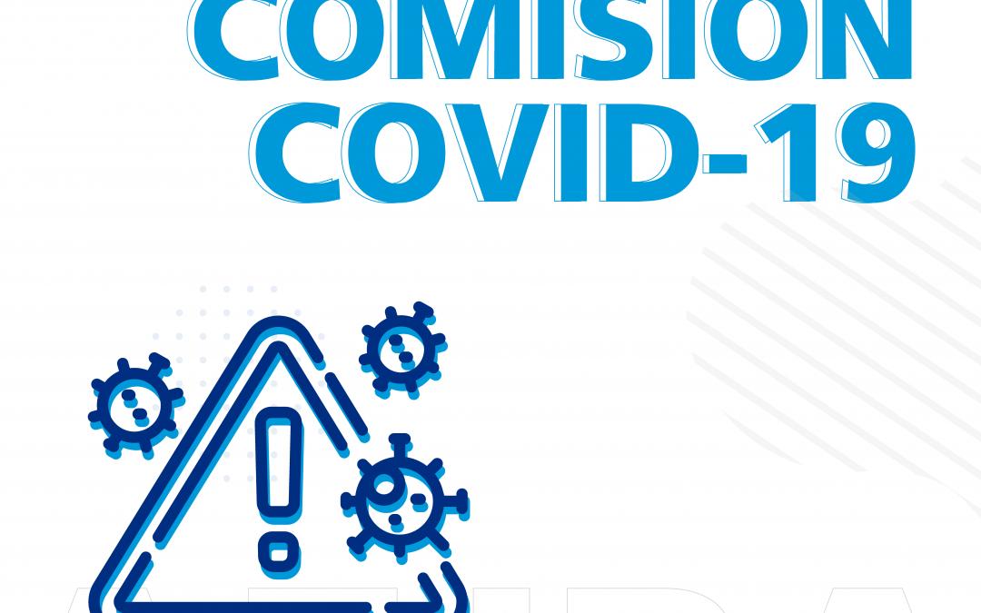 Solicitamos de manera URGENTE nueva reunión de la Comisión COVID-19